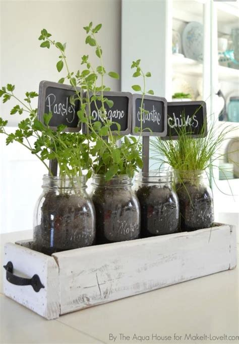 Window Sill Herb Garden Box by Herbs In Drawer Inside Fruit Jars For Kitchen Window