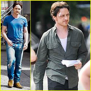 James McAvoy: Bruised & Bandaged for 'Eleanor Rigby ...