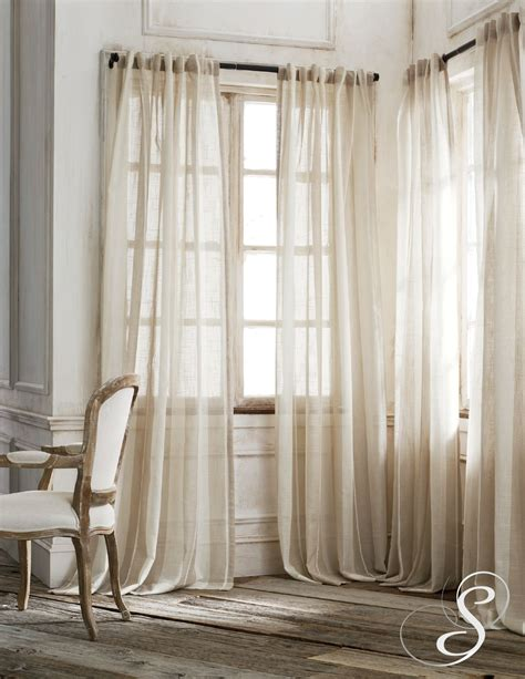 Sheer Drapes by Homey Sheer Curtains For Front Door Windows And Sheer