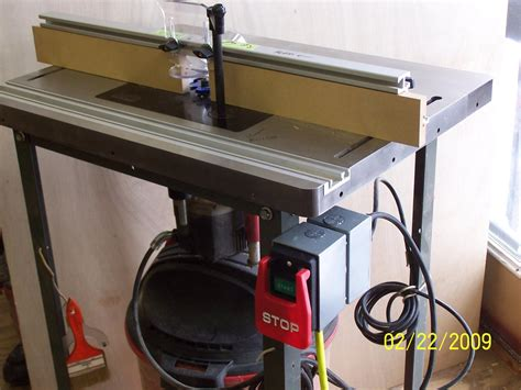 bench dog router table    switch router forums