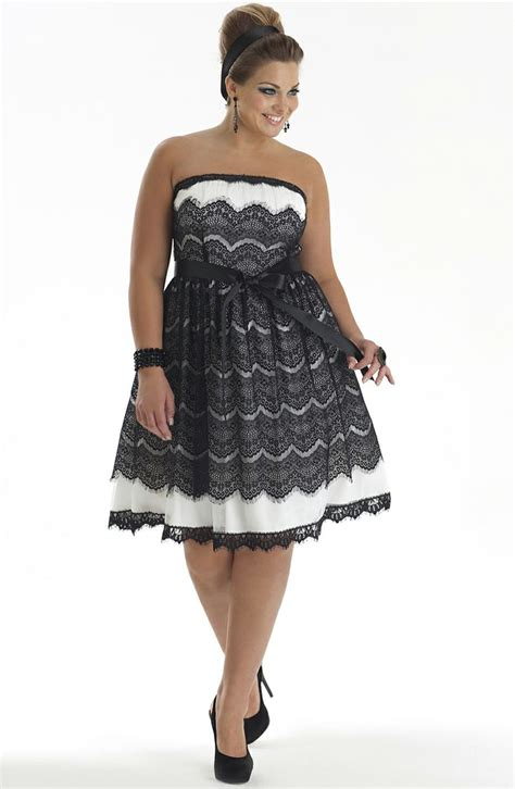 Stylish Cocktail Dresses For Plus Size Women At Wholesale