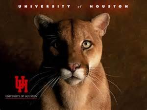 University of Houston Cougar Mascot