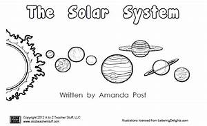 Solar system clipart black and white - ClipartFest