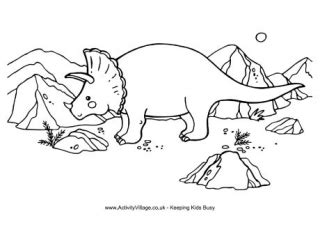 printable dinosaur colouring pages  kids