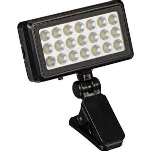 vivitar universal clip on led light viv sp 412 b h photo video