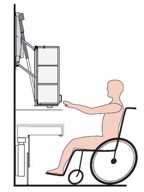 hauteur meuble haut cuisine plan de travail l 39 aménagement d 39 une cuisine pour une personne en fauteuil