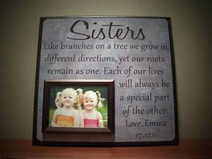 sisters picture frame wedding gift like branches on a With good wedding gifts for sister