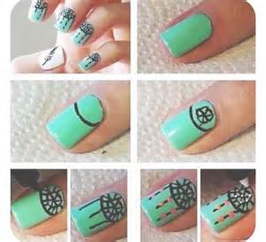 Easy nail art for beginners step by tutorials inspiring