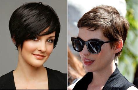 cheveux courts  belles coupes courtes tendance ete