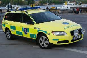 Ambulance Emergency Response Vehicle