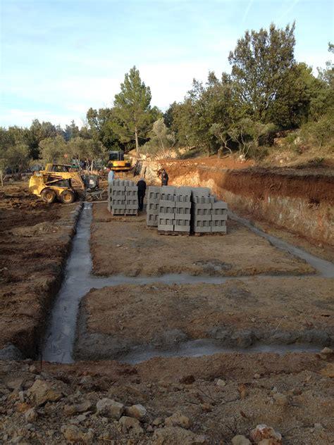 fondations 224 ponteves maison bois c 244 t 233 sud