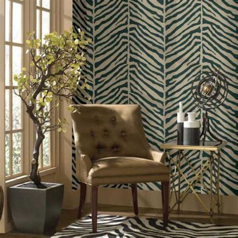 zebra print wallpaper for bedrooms design exotic home decorating ideas allowing zebra prints to reveal your wild side