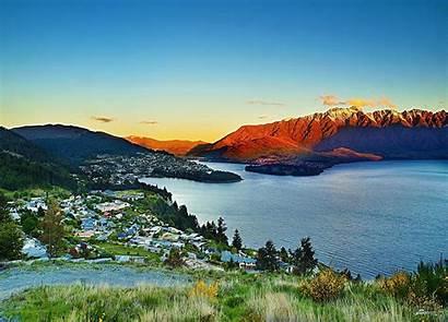 Zealand Queenstown Australia South Pacific Town Vacation