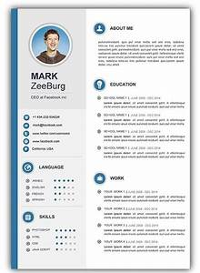Free Resume Templates Doc Resume Doc Template Visual