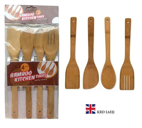 cooking utensils bamboo kitchen tools wooden spoon spatula turner spoons utensil piece tool