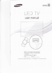 Samsung Led 6500 Series Tv Operation  U0026 User U2019s Manual Pdf