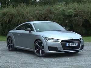 Audi Tt 180 : essai audi tt coup 1 8 tfsi 180 s line 2016 youtube ~ Farleysfitness.com Idées de Décoration