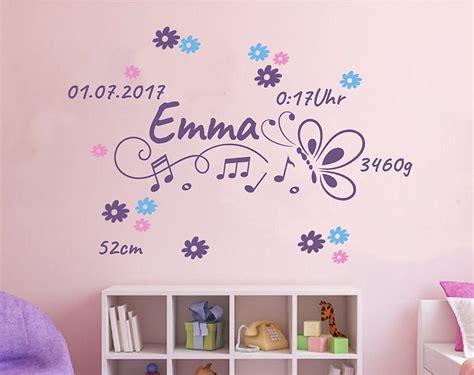 Kinderzimmer Wandgestaltung Mädchen by Wandtattoo Kinderzimmer M 228 Dchen 2714 Made House Decor