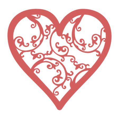 Download for free in png, svg, pdf formats 👆. Filigree heart svg repost with updated file   Images By ...
