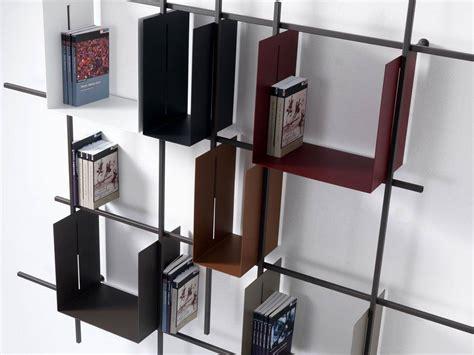 Bücherregal Metall Design by Libra 2 Metallo B 252 Cherregal Mit Struktur Aus Stahl Und