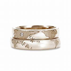 great wedding ring idea for long distance relationship With long wedding rings