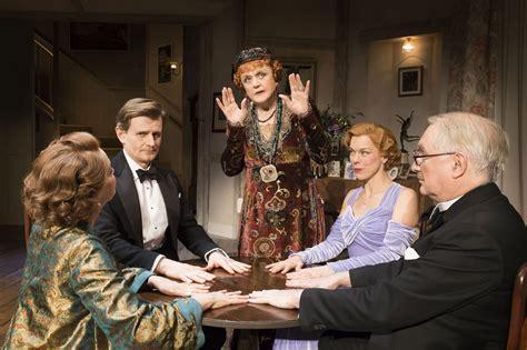 Blithe Spirit Theatre Review Angela Lansbury Delicious