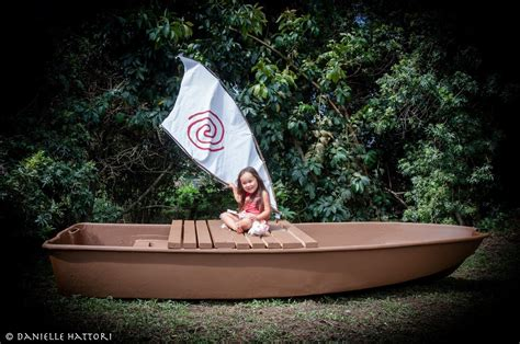 Life Size Moana Boat Diy diy life size moana boat i made for my daughter the