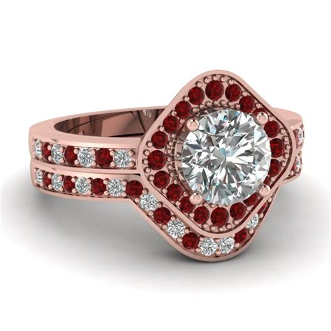 affordable ruby wedding rings for women fascinating diamonds