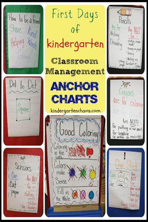 classroom management preschool classroom management anchor charts 773