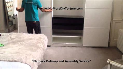 ikea pax anstad  sliding doors wardrobe youtube