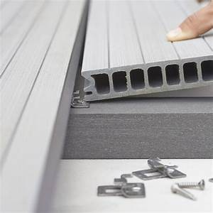 Lame Composite Pour Terrasse Leroy Merlin : lambourde pour terrasse composite grafik noir l 2 4 m x ~ Zukunftsfamilie.com Idées de Décoration