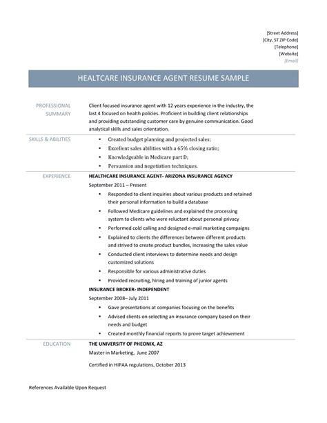 Insurance broker job description template. Health Insurance Agent Resume Samples and Job Description | by Online Resume Builders | Medium