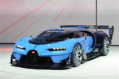 meet  bugatti vision gt   face xbox carscoops