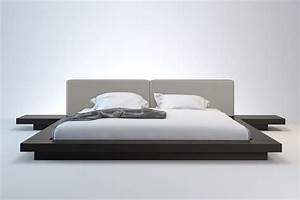 Worth modern platform bed modloft for Modern bed