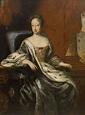 ca. 1706 Hedvig Eleonora of Holstein-Gottorp, Queen ...