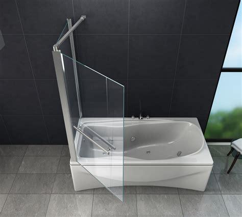 Duschwand Für Badewannen eck duschtrennwand uniono 70 badewanne glasdeals