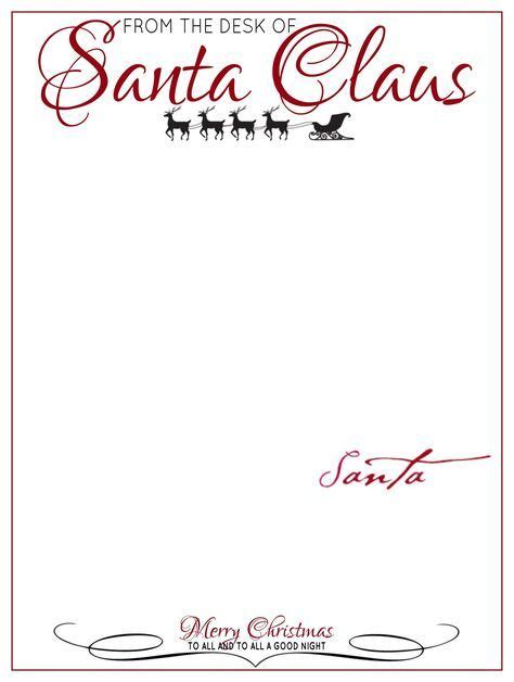 christmas list doc the desk of letter from santa claus letter from santa letter from santa