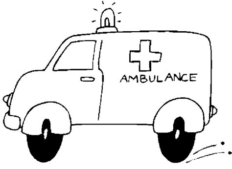 ambulanza da colorare imagui