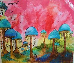 Trippy Mushroom Forest | www.pixshark.com - Images ...
