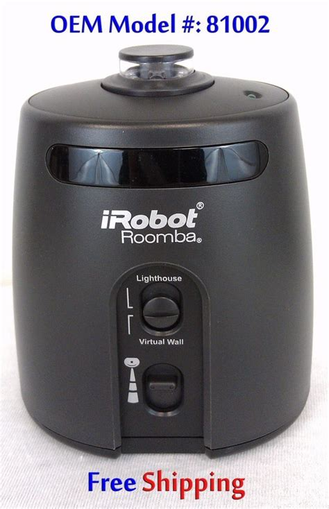 virtual wall lighthouse 880 roomba virtual wall lighthouse oem 81002 irobot for 780 790 880 some 500s black stuff to buy