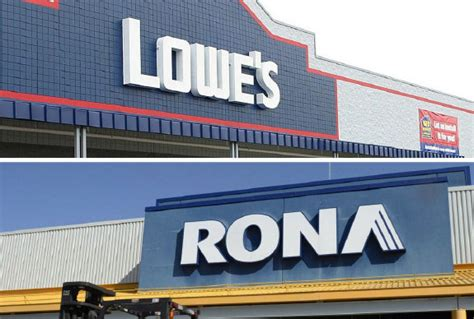 lowes rona deal faces quebec opposition toronto star