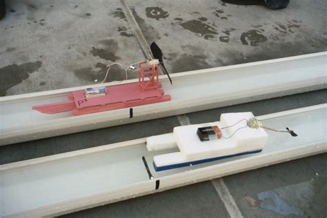 Electric Motor Boat Project Information by Cardboard Boats Physics Boat Race Electric Motorboat