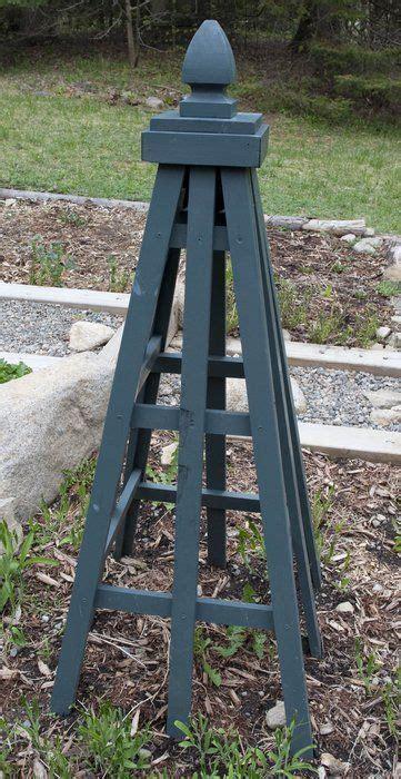 plans   cedar obelisk garden obelisk  mtkate gardentenderscom gardening