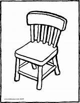 Chair Clipart Colouring Furniture Kiddicolour Pages Drawing Webstockreview Kleurprenten Kiddi Receiver Mail Name sketch template