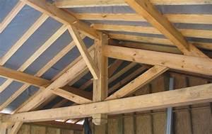 Ferme De Charpente : charpente bois traditionnelle conception charpente 4 pans ~ Melissatoandfro.com Idées de Décoration