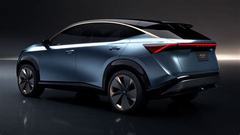 The nissan ariya is an electric compact crossover suv produced by the japanese automobile manufacturer nissan at its tochigi plant in japan starting in july 2020 for the 2021 model year. Nissan Ariya: first look at the 389bhp AWD electric ...