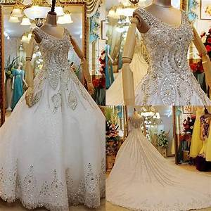 sparkly plus size wedding dresses ball gown v neck sheer With plus size sparkly wedding dresses