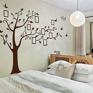 Baum Für Wohnzimmer : enorm schwarz bilderrahmen erinnerung baum ast wandtattoo herausnehmbar wand dekor wandaufkleber ~ Markanthonyermac.com Haus und Dekorationen