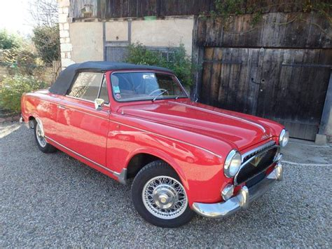 Peugeot 403 For Sale by Peugeot 403 Convertible 1959 For Sale Classic Trader