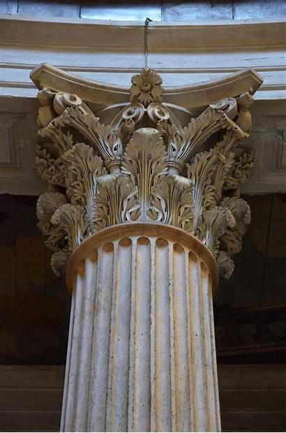 Rome Corinthian Capital Architecture Pantheon Order Acanthus